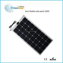 100W new energy fabric monocrystalline polycrystalline silicon flexible solar panel