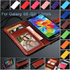 for samsung galaxy s5 wallet cover with id card holder and stand, for samsung galaxy s5 cover