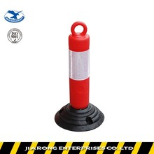 Lower Factoty Price 500mm Rubber Base Flexible warning post