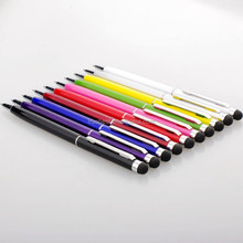 Promotion Metal touch ballpoint pen , metal stylus touch pen