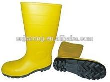 La muestra libre de seguridad puntera de acero botas de lluvia