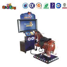 Qingfeng coin operated arcade simulator horse racing game machine electronic horse racing games popular in Pakistan