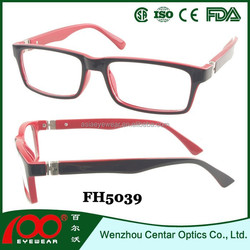 high quality cp optical frame injection, hot sell optical frames wholesale with sring hingge