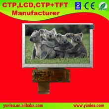 colorful TFT module 800x480 5 inch LCD display monitor
