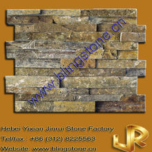 Eco-friendly Stacked Wall Panel Rustic Stone