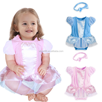 Factory Price Baby Girl Clothes Short Sleeve Summer Baby Romper Newborn Jumpsuits Rompers With Headband Baby Product