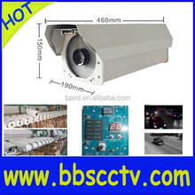 highway road street camera anpr system 2.1MP WDR flash function&intellingent light-compensating