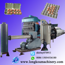 whole production line for producing paper egg trays