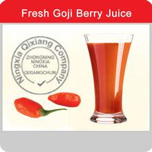 Organica di goji succo( 100% goji succo di bacche fresche)