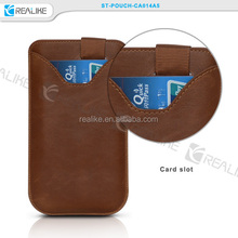 Genuine Real Leather Slimline Pouch Case Cover for Apple iPhone 6