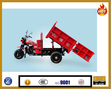 2015 Hydraulic three wheel motocarro cabina cargo tricycle for sale