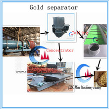 Good quality alluvial gold ore mining plant / gold separator system