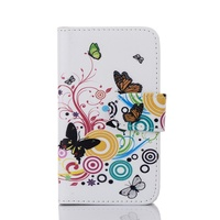 Flower Printing Leather Flip Case For Nokia X From China Manufacturer