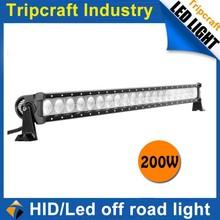 2015 super bright Cre e One Row 200w flood led light bar 39inch led light bar