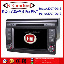 K-Comfort GOOD QUALITY fiat bravo car gps navigation with GPS + SWC + Radio + RDS BT+ SD + USB CD/DVD IPOD Aux-in