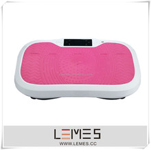 2015 new music Crazy machine for fitness body vibration machine touch screen