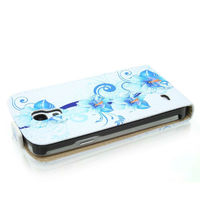 Leather Flip Case For HTC Desire 310,Wallet Leather Case For Samsung Galaxy S4 Mini I9190