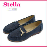fashion new arrival casual cheap ladies wholesale woman shoes moccasin