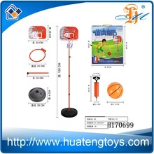 Kids play sport toy,mini basket ball Vertical type basketball stands H170699