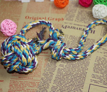 New design cotton rope dog toy /dog chewing toy