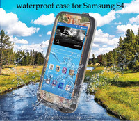 Heavy Duty Sleek Cover Hard Plastic Waterproof Shockproof Case Red Pepper for Samsung Galaxy S4 Mini