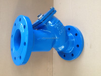 Cast iron / Ductile Iron API Flanged End Y - Type Strainer
