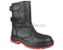 En ISO 20345 água botas de segurança fábrica resistatant e óleo resistente e anti estática