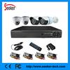Home CCTV kit 4CH 600TVL camera DVR IR indoor/outdoor waterproof/Vandalproof Security Camera kit surveillance system