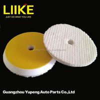 Car Accessory 6 inch wool polishing compound pad car