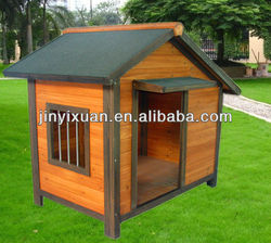 Excellent quality ! Large dog run kennel / Weather-Resistant wooden pet house
