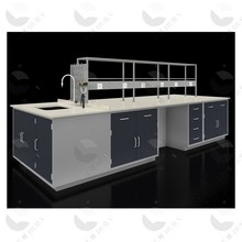 School/Chemistry/Physics/Biology Lab Central/Side Bench