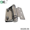 Frameless pool fence wood glass shower door pivot hinge