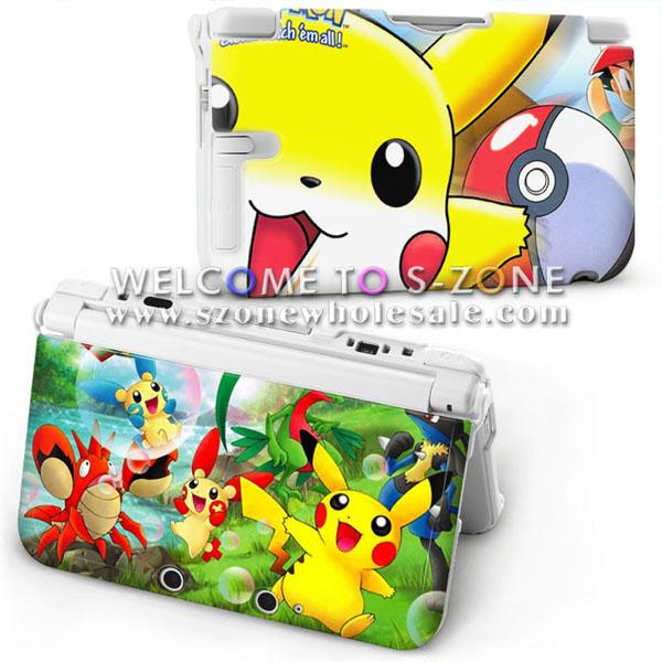 Mignon de bande dessin e coque de protection pour nintendo for Housse 3ds xl pokemon