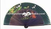Hot Sale Japanese Bamboo Silk Hand Fan For Advertising