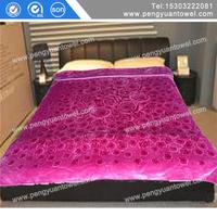 wholesale light weight mink blanket