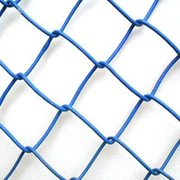 PVC Coated Iron Wire Mesh Chain Link Fence Parts