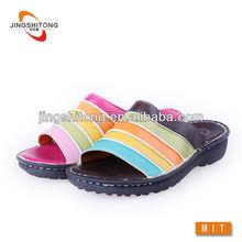 los últimos zapatos de las señoras zapatilla de casa imágenes en color
