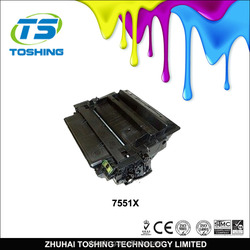 high profit margin products toner cartridge for hp 7551X
