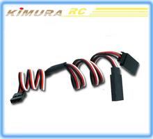 Servo conexión o receptor conexión cables de la línea de cable conductor utilizado para el coche del rc, avión y helicóptero
