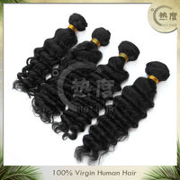 Here show 5A Grade 100% human virgin peruvian hair,hot selling hot hair alibaba.