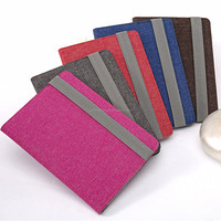 High quality Custom ultra slim kniting design universal case 7 inch tablet pc leather case