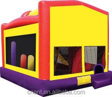 school cars type inflatable bouncer like house jump Module line