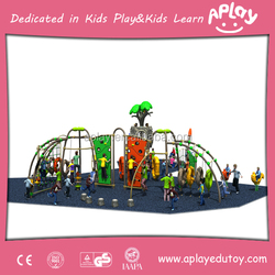Enjoy love outdoor playground equipment china customized playset plans