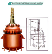 Electric heating enamel reaction kettle/tank/glass lined reactor