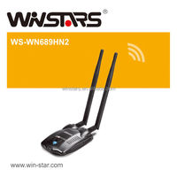 300Mbps Wireless High power usb2.0 wifi adapter ,More range for every WLAN network,Support 2.4GHz WLAN networks