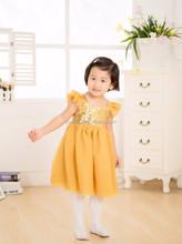 2015 wholesalelatest dress designs, sparkle girl dress, party girls one piece dress