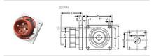 TIBOX Cee Power Industrial waterproof Plug 16A IP44 013