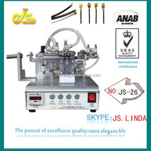 High speed top sell JS-26 fully automatic apple ipad 16gb 32gb 64gb IPEX terminal crimping machine