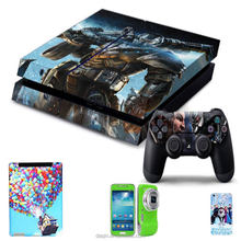 Mobile phone sticker software for PS4 Console Sticker