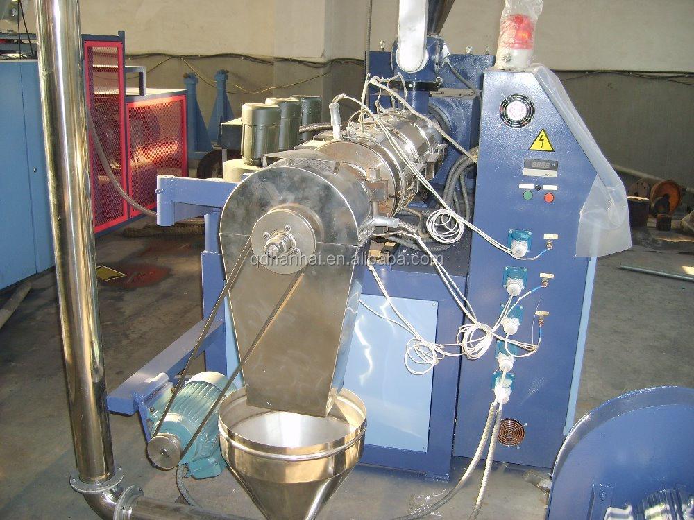Pvc madeira WPC máquina de reciclagem com preço / máquina de plástico